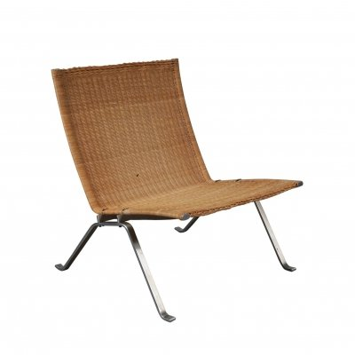 PK22 Lounge Chair by Poul Kjaerholm for Fritz Hansen, Denmark 1960s