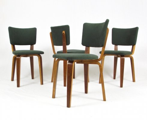 Set of 4 Cor Alons dining chairs, 1940s