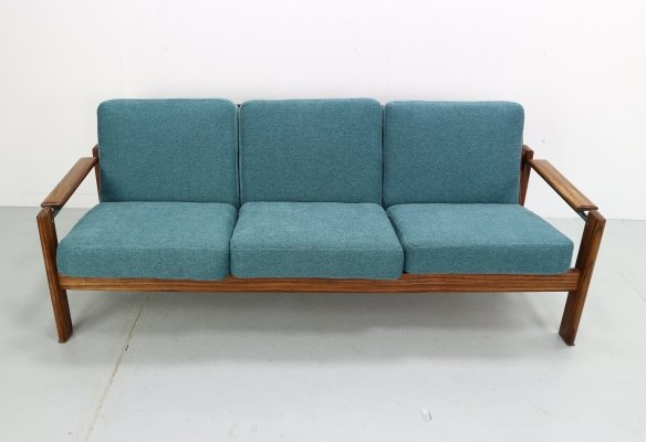 Vintage Rosewood Three-Seat Sofa, 1960s