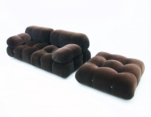 Camaleonda Sofa with a Foot Stool by Mario Bellini