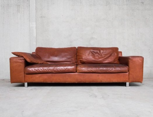 Vintage Leather sofa by Topform, 1990s
