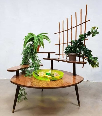 Vintage 'oase' plant stand