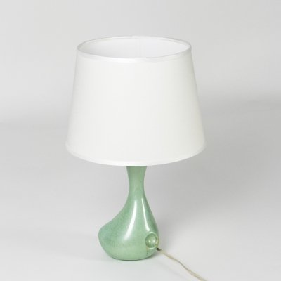 Ceramic table lamp by Antonia Campi for S. C. I. Laveno, 1950s
