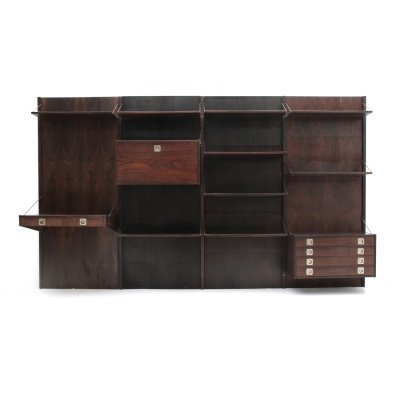 Italian mid-century wall unit with desk by Stildomus, 1960s