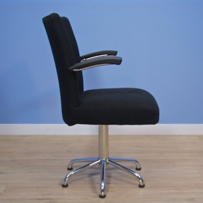Very rare Dutch office chair by Toon de Wit for de Wit, 1960s
