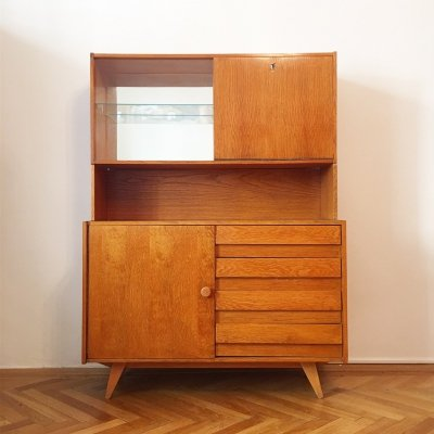'U 458' Dresser with Bar by Jiri Jiroutek for Interier Praha, 1960s