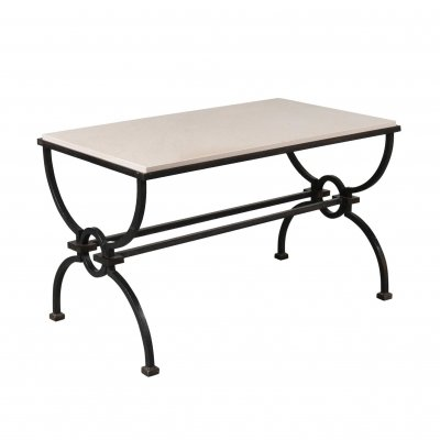Jacques Adnet & Gilbert Poillerat Coffee Table, France circa 1942