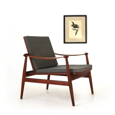 FD 133 Easy Chair by Finn Juhl, 1950s