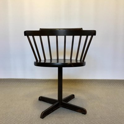 Vintage Industrial Swedish 'E10' Chair by Nesto, 1970s