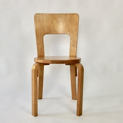 Model 66 dining chair by Alvar Aalto for Finmar, 1930s