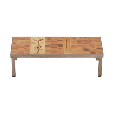 Rectangular Coffee Table by Roger Capron for Atelier Callis, 1960s