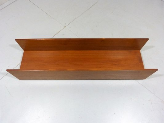 Teak Wall Shelf by Walter Wirz for Wilhelm Renz