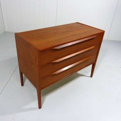 Teak Chest of Drawers by Aksel Kjersgaard Denmark, 1960's