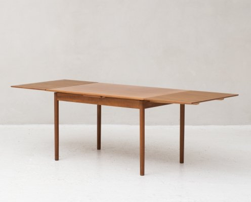 Extendable dining table by HS Mobler, Denmark 1960s