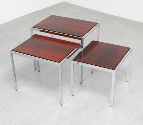 Nesting table by Cees Braakman for Pastoe, 1960s