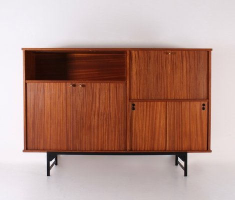 French modernist cabinet by René Jean Caillette