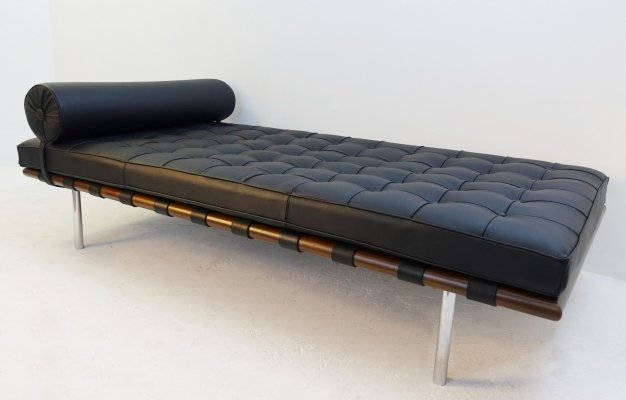 Barcelona Daybed By Mies Van Der Rohe for Knoll, 1960s
