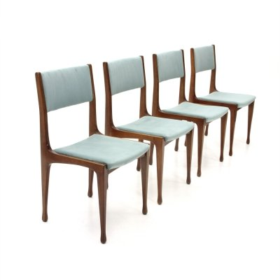 Set of 4 Model 693 dining chair by Carlo de Carli for Cassina , 1950s