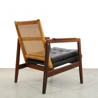 Vintage easy arm chair by P. Muntendam for Gebroeders Jonkers, 1950s