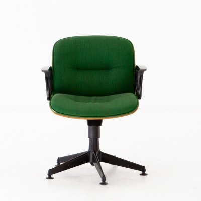 Italian Swivel Armchair by Ico Parisi for MIM Roma, 1960s