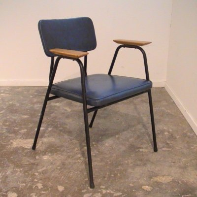 Mid Century 'M' Chair By Pierre Guariche For Meurop
