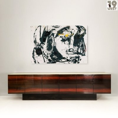 Giant rosewood sideboard from the 1970's