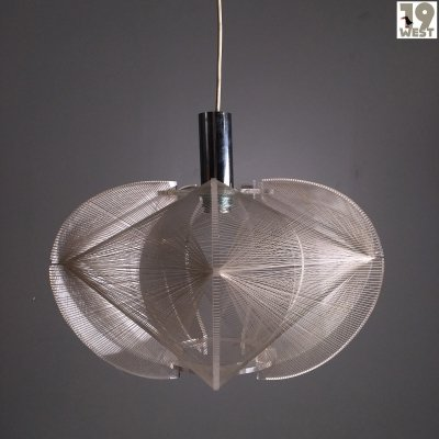 Op art pendant lamp from the 1960's by Paul Secon for Sompex