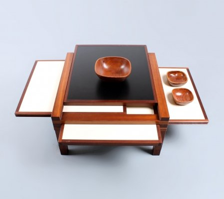Par-4 coffee table by Bernard Vuarnesson for Bellato, 1980s