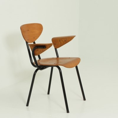 Plywood Arm Chair from 1950's