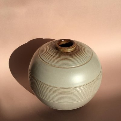 Art Deco Ceramic Vase by Anna-Lisa Thomson for Upsala Ekeby, Sweden 1930s
