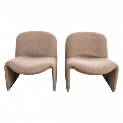 Pair of Alky chairs by Giancarlo Piretti for Castelli, 1960s