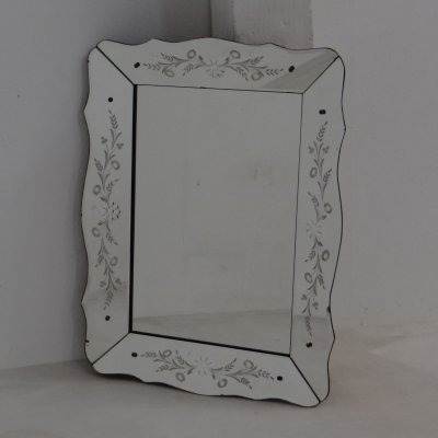 Venetian art deco mirror