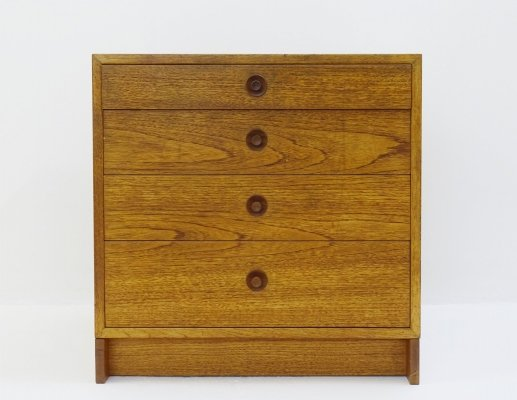 Karl Anderson Scandinavian Chest Of Drawers In Oak by Børge Mogensen, 1960s