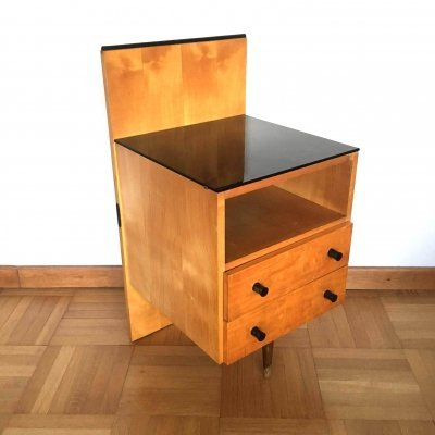 Bedside table Klivie by UP Zavody, Czechoslovakia 1960s