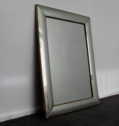 Luxurious DeKnudt Mirror, 1980's
