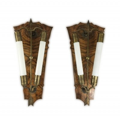 Pair of wall lights by Gio Ponti & Tomaso Buzzi, 1930s