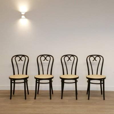 Set of 4 No. 16 Chairs by ZPM Radomsko, 1970s