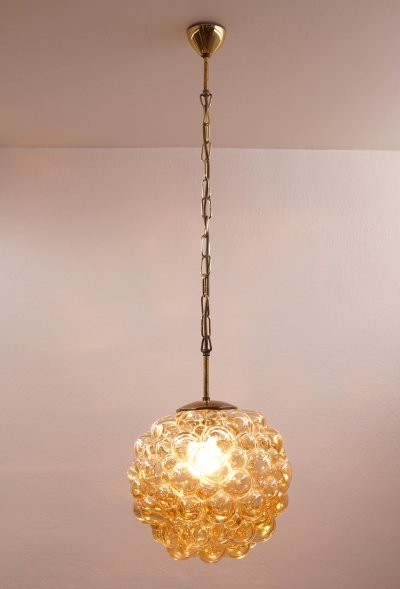 Bubble Pendant by Helena Tynell for Glashütte Limburg