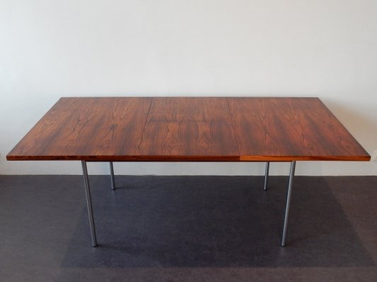 Extendable SM08 palissander dining table by Cees Braakman for Pastoe, 1960's