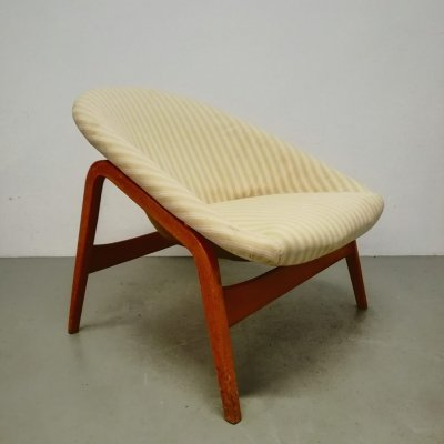 Columbus lounge chair by Hartmut Lohmeyer for Artifort, 1950s