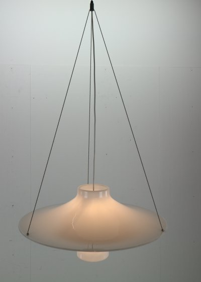 Skyflyer- Lokki Hanging Lamp By Yki Nummi For Sanka, 1960S