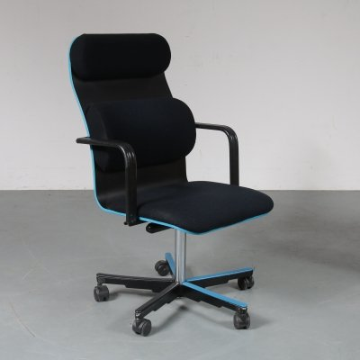 Office chair by Yrjö Kukkapuro for Avarte Finland, 1980s