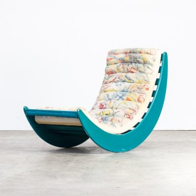 Verner Panton relax lounge rocking chair for Rosenthal, 1970s