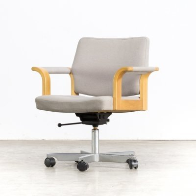 Rud Thygesen & Johnny Sørensen swivel desk chair for Magnus Olesen, 1960s