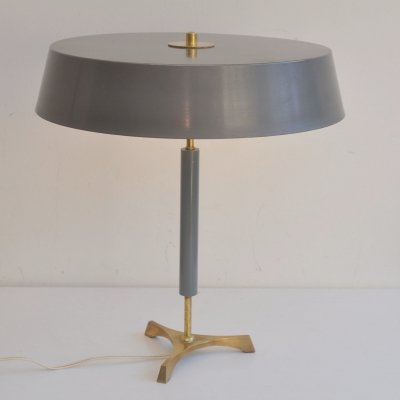 Danish modern tripod desk lamp, 1960s
