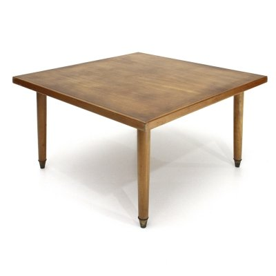 Italian mid-century square coffee table, 1940s
