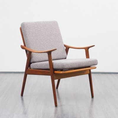 Teak armchair model 563 by F. Kayser for Vatne Lenestolfabrik