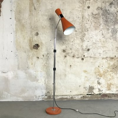 Vintage Danish Design floor lamp by Jo Hammerborg for Fog & Mørup, 1960s