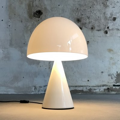 XL Mushroom 'Baobab' Table Lamp by Harvey Guzzini for iGuzzini, Italy 1970s