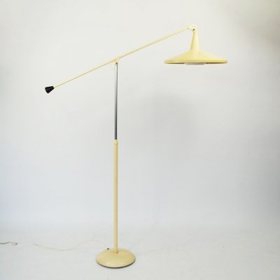 Giso 6350 floor lamp by Wim Rietveld for Gispen, 1950s
